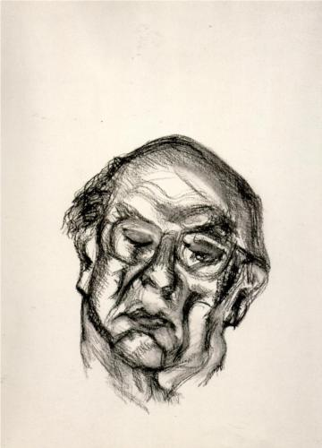 Isaiah Berlin by Lucian Freud