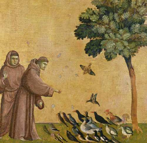 St Francis and the Birds